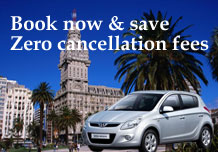 Book now & save. Zero cancellation fees.